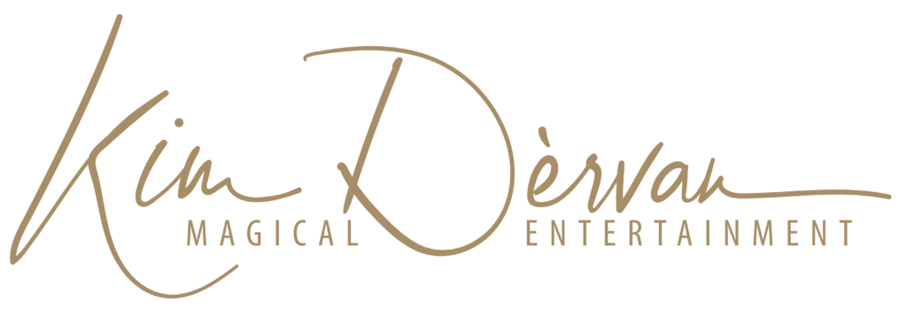 Goochelaar Kim Dervan Logo Gold