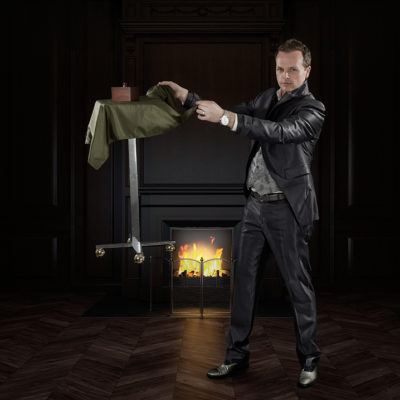 Goochelaar Illusionist boeken voor uw event goochel act podium show